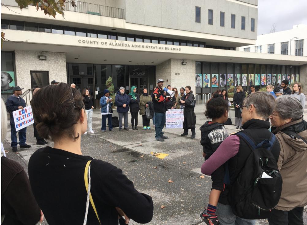 126 prisoners go on hunger strike in Oakland detention