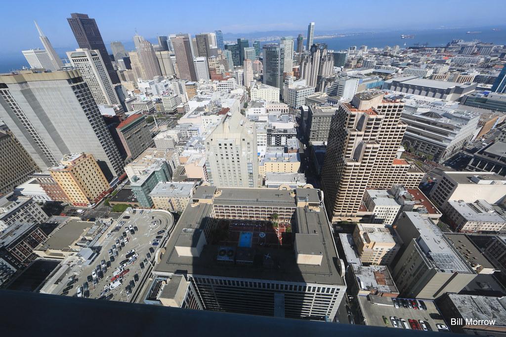 Overhead shot of San Francisco